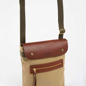 Canvas And Leather Kalahari Bag