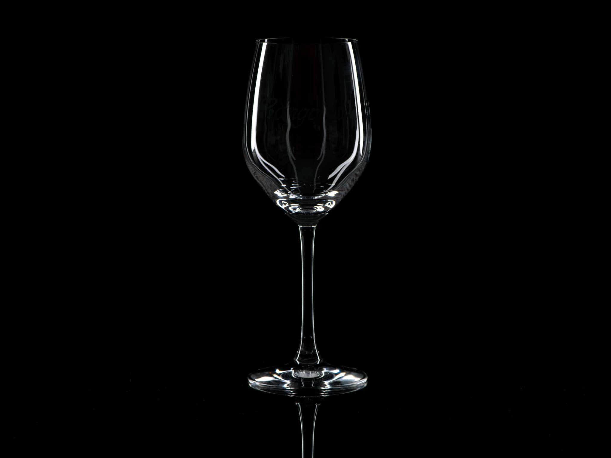 Plain Crystal Red Wine Glass