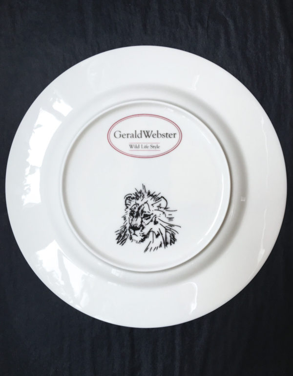 Bone China Dinner Plate - Lion