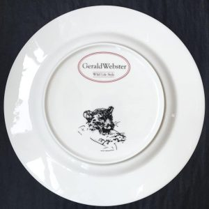 Bone China Dinner Plate - Leopard