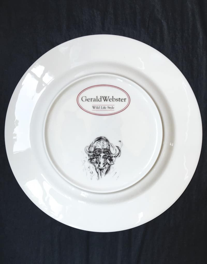 Bone China Dinner Plate - Buffalo