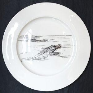 Bone China Dinner Plate – Croc