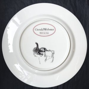 Bone China Dinner Plate - Elephant