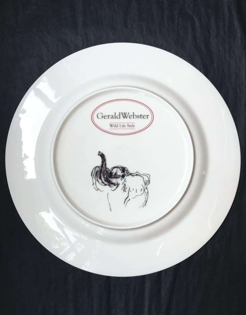 Bone China Dinner Plate - Elephant