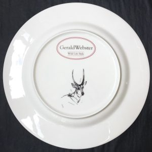 Bone China Dinner Plate - Waterbuck