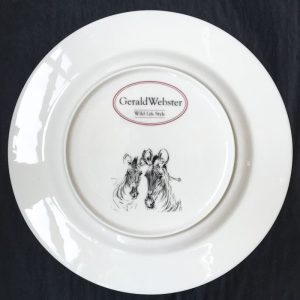 Bone China Dinner Plate – Zebra