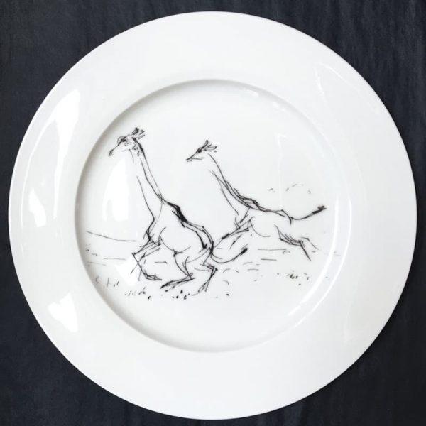 Bone China Dinner Plate – Giraffe
