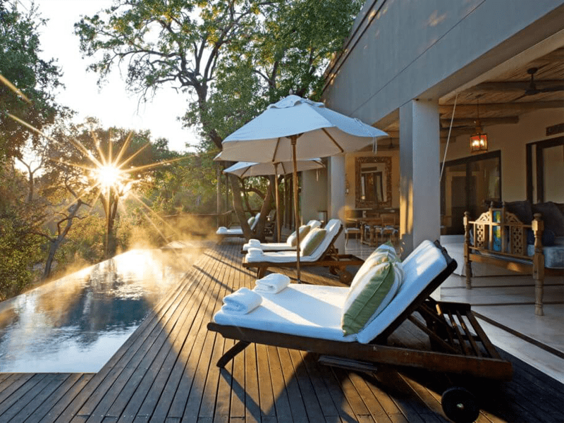 Africa House - Decking