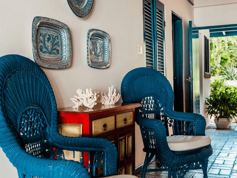 Blue Villa - Hallway