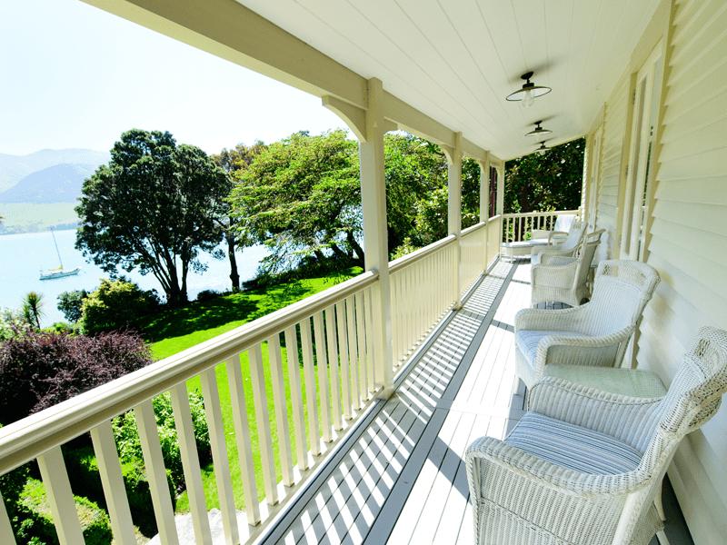 The Homestead - Balconies