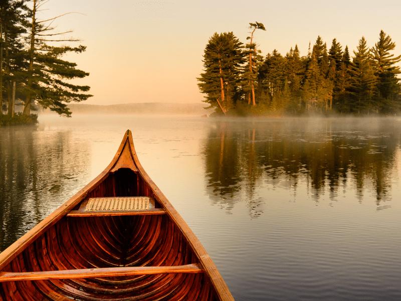 Lake Kora - Canoeing