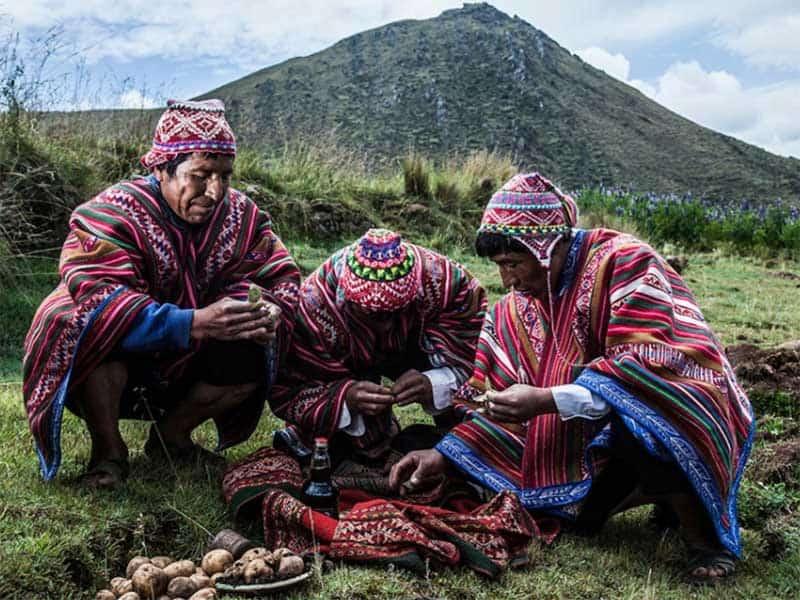 Inca Trail Lake Titicaca