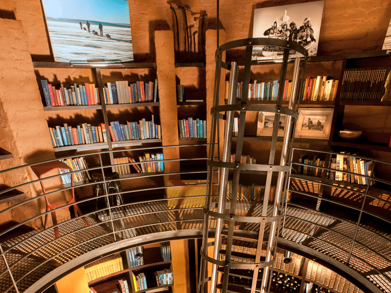The Observatory - Lobo - Library