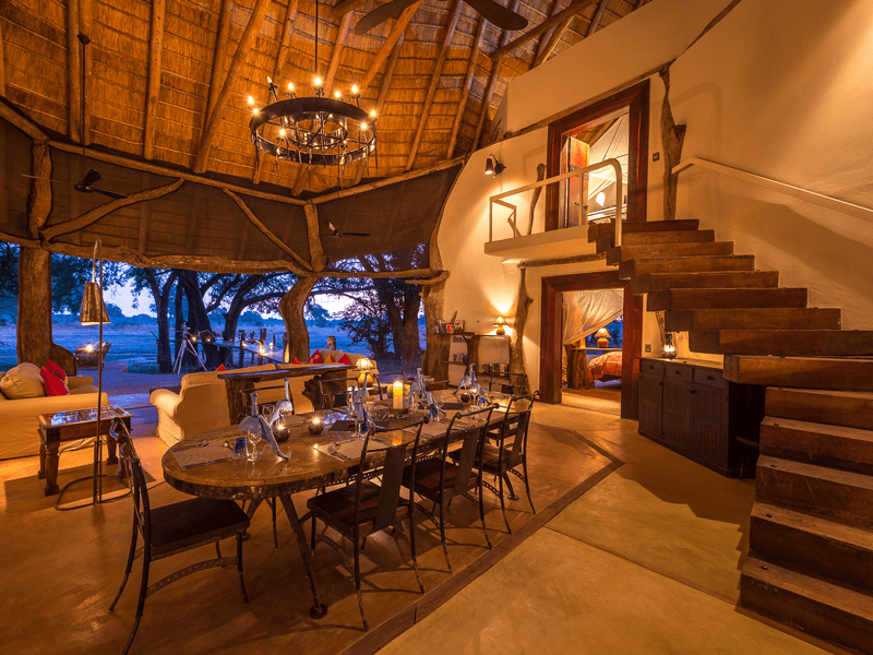 Luangwa Safari House - Evening