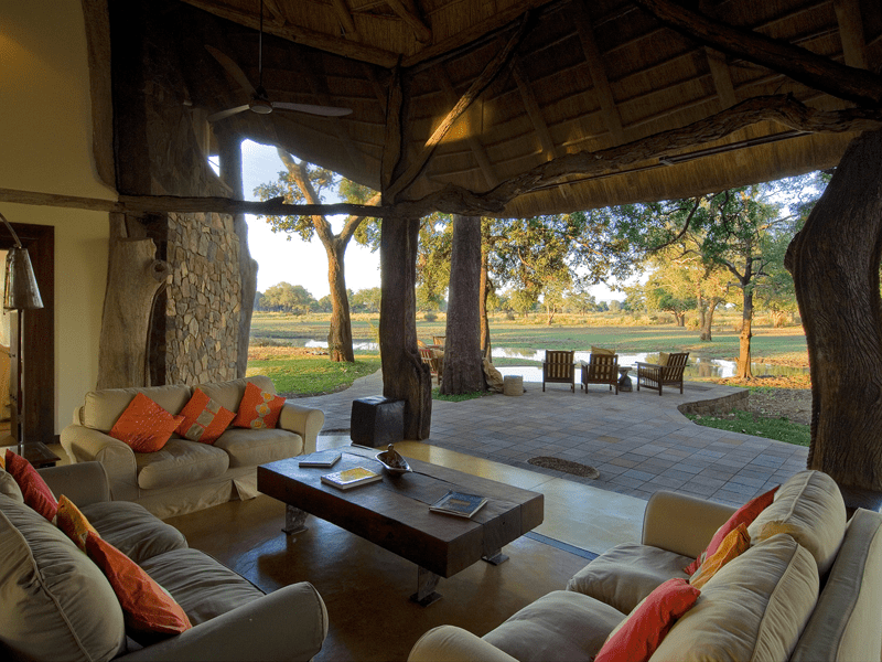 Luangwa Safari House - View