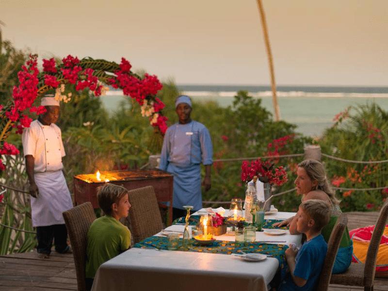 Matemwe Beach House - Dinner