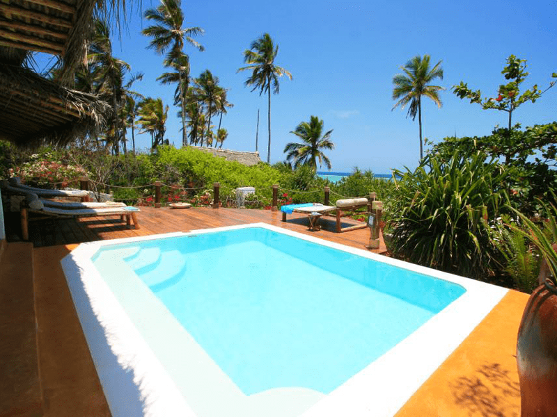 Matemwe Beach House - Pool