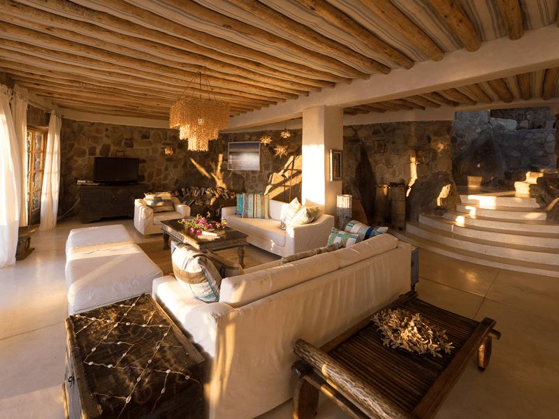 Ndomo House - Sitting Room