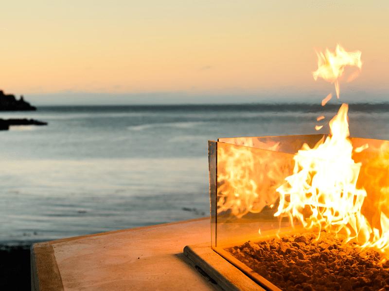 Seascape - Open Fire Pit