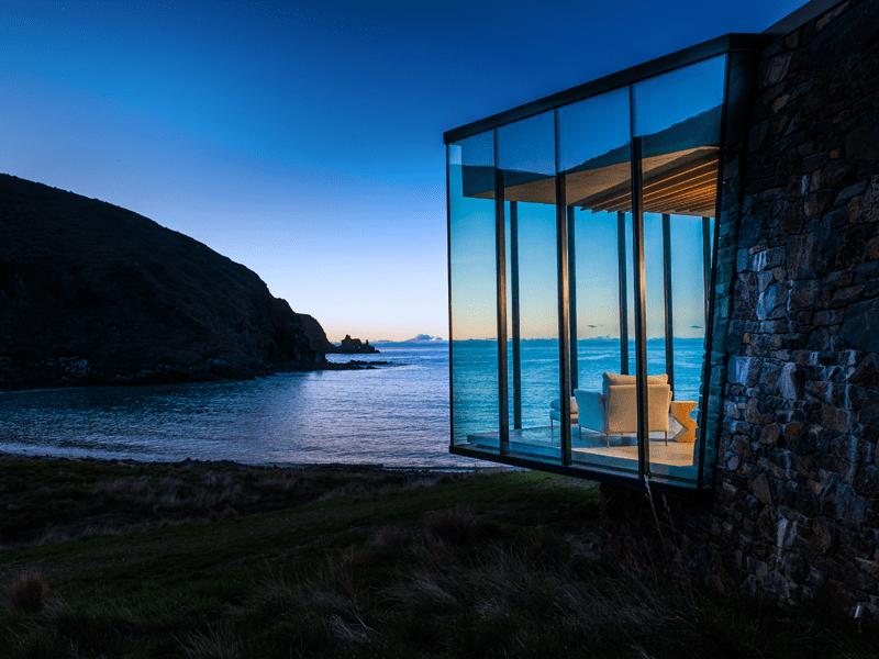 Seascape Private Houses New Zealand Sleeps 2 Tim