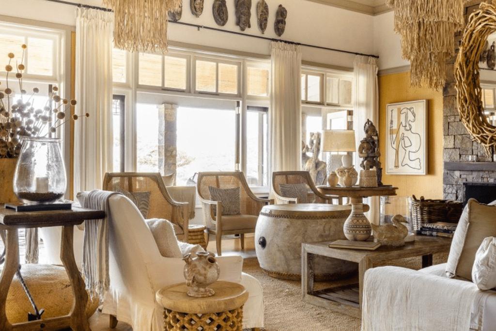 Singita Private House - Sitting Room
