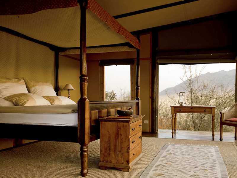 Wolwedans Private Camp - Bedroom