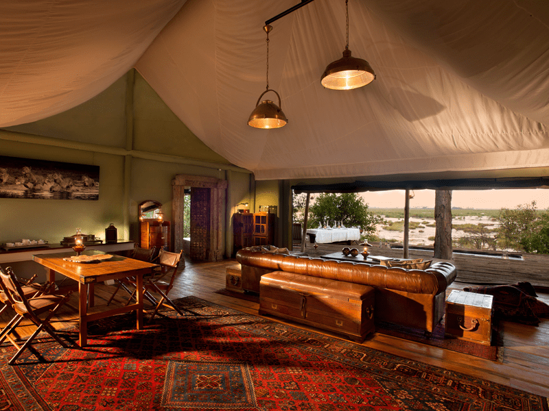 Zarafa Dhow Suites - Sitting Room