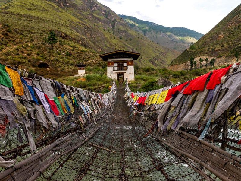 Bhutan - Prayer Flags