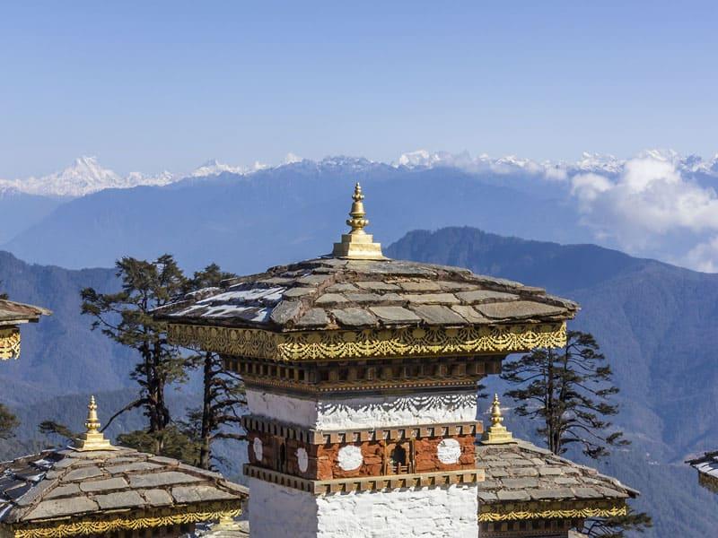 Bhutan - Chorten Dochula Pass