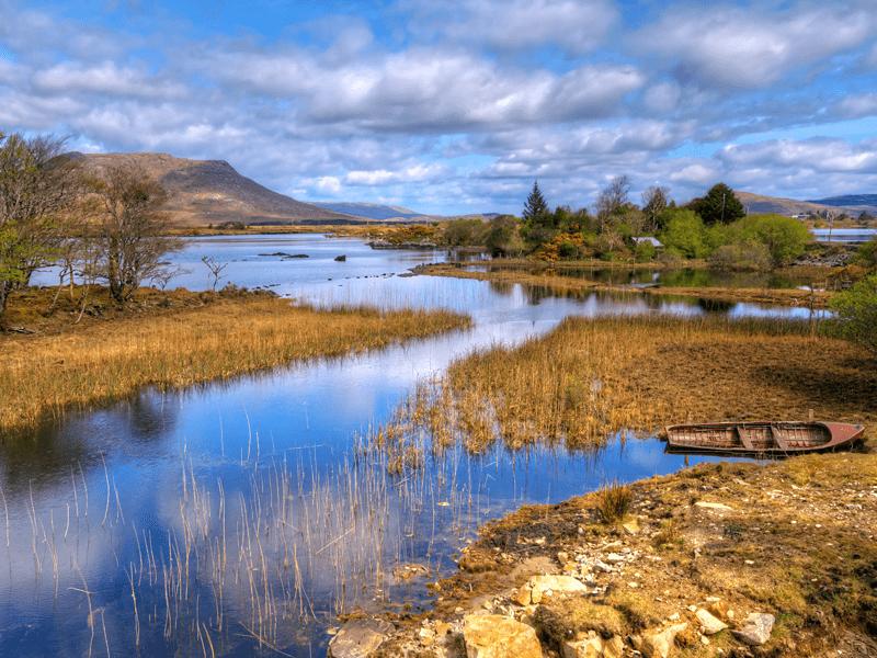 Ireland - Connemara Lake