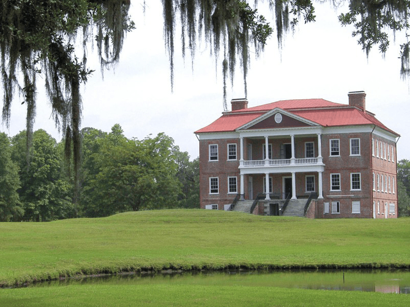 South Carolina And Georgia - Drayton Hall