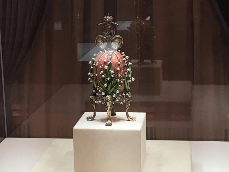Petersburg - Faberge Museum