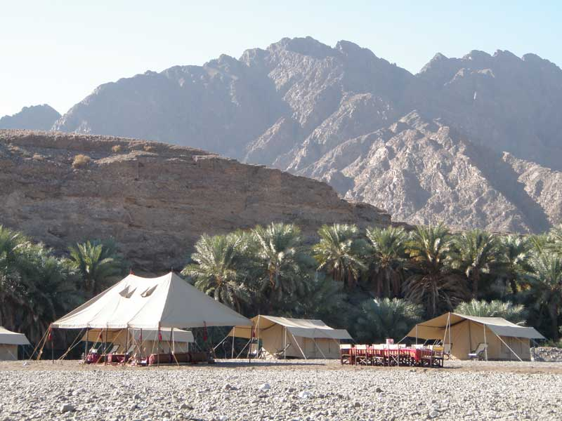 Oman - Hajar Camp