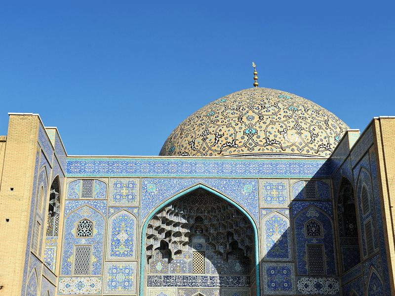 Rail Through Iran - Esfahan