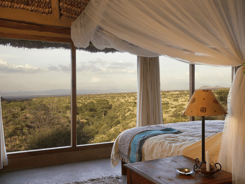 Kenyan Safari - Bedroom