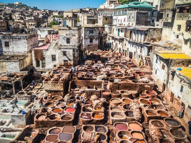 Morocco - Tannary