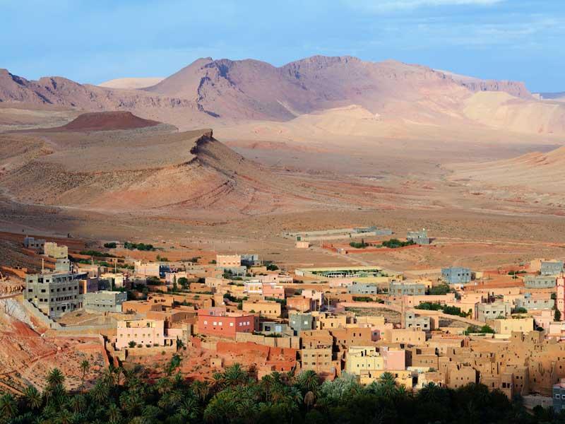 Trekking In The Atlas Mountains - Village