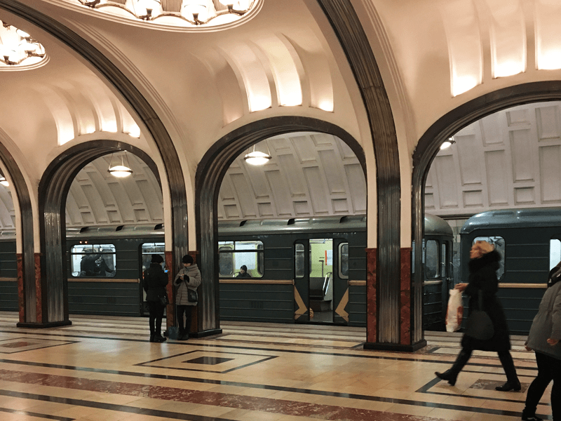 Ballet And Fine Food - Moscow Metro