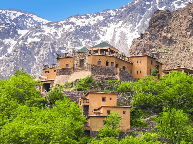 Trekking In The Atlas Mountains - Kasbah