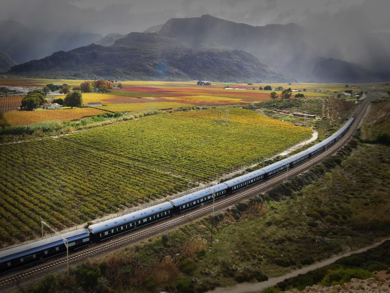 The Cape And Rail - South Africa