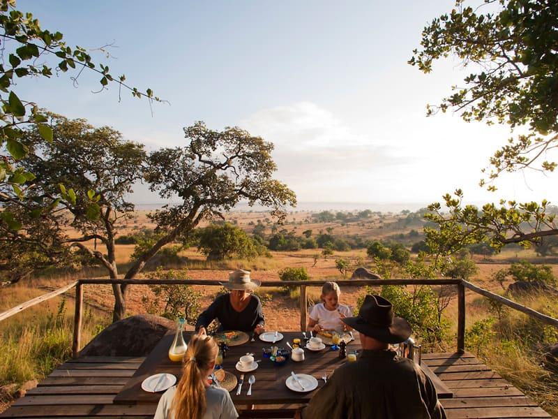 Serengeti - Breakfast