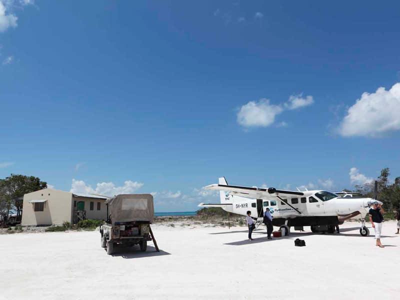Vamizi - Charter Flight