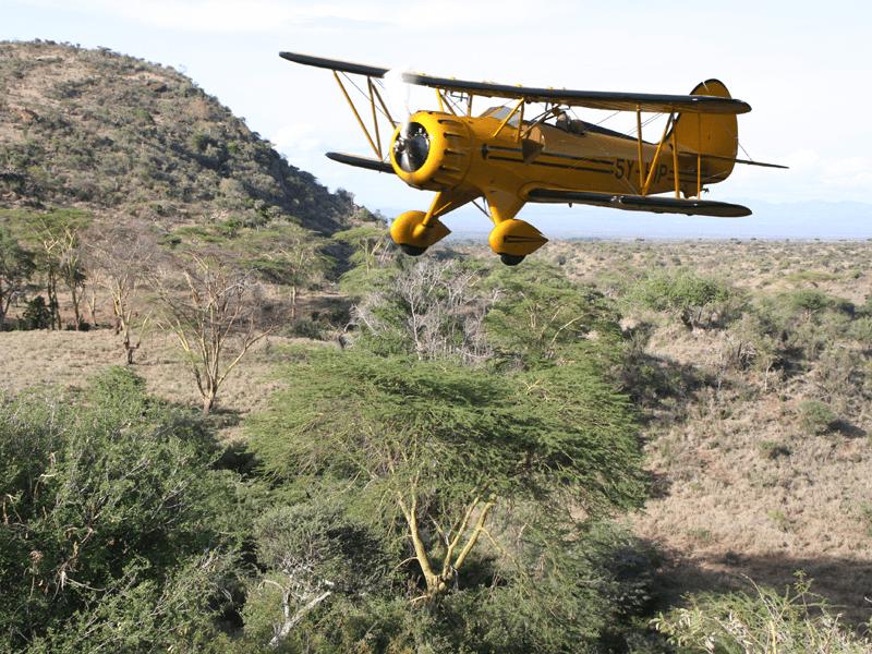 African Safari - Light Aircraft
