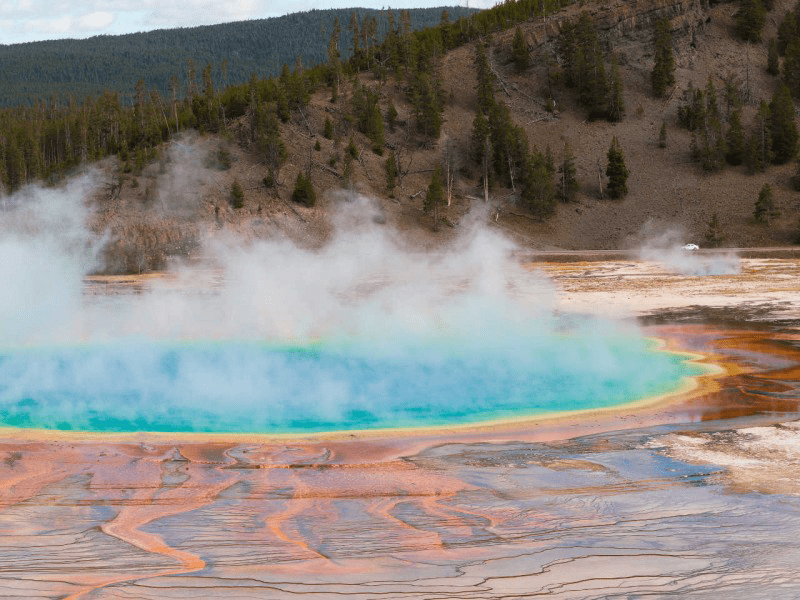 Yellowstone - Hot Spring