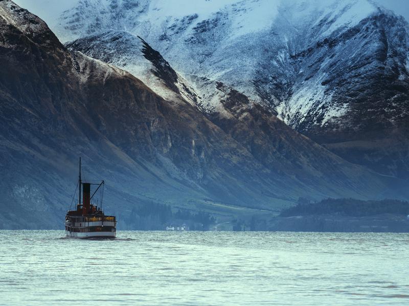 South Island - Wakatipu Lake