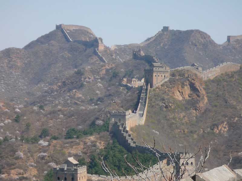 Mountains And Lakes - Great Wall Of China