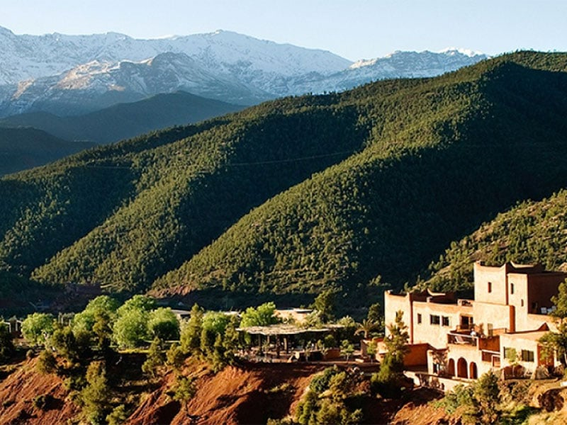 Mountains And Marrakech - Kasbah