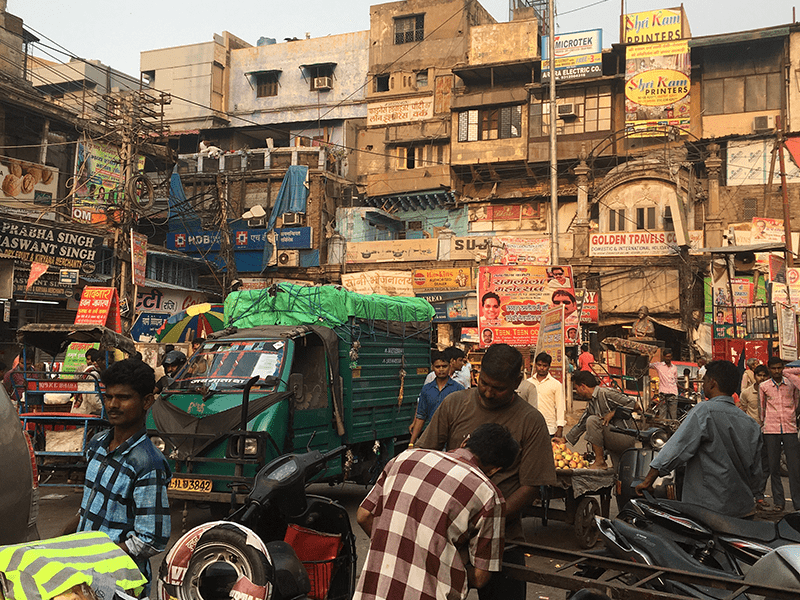Golden Triangle - Old Delhi
