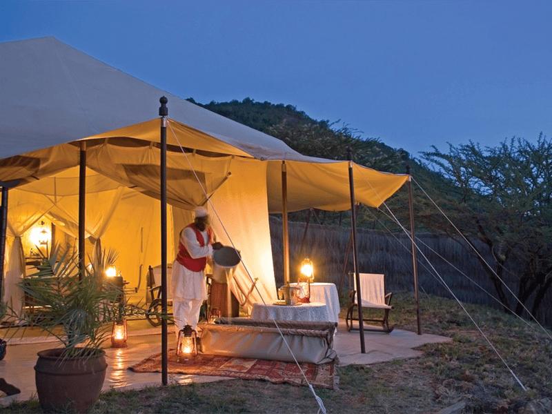 Maasai - Tent