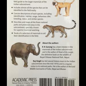 Mammals India Back